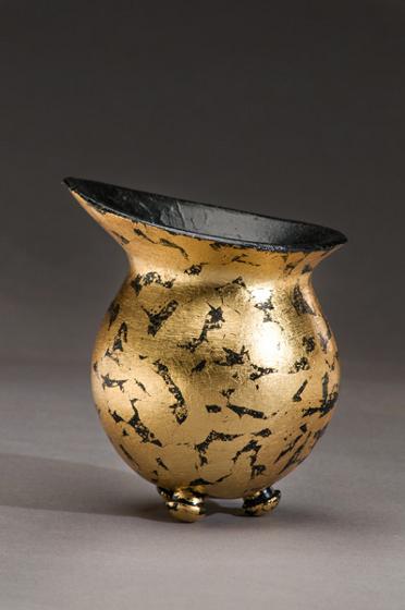"""Small Black Vase"""